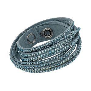 Swarovski light blue bracelet